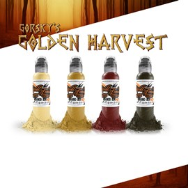 World Famous Ink Gorsky's Golden Harvest Set